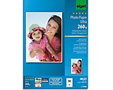 Sigel Fotopapier Ultra  DIN A4 190g superweiß 50 Bl./Pack.