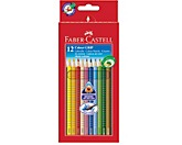 Faber-Castell Farbstift Colour GRIP 112412 farbig 12 St./Pack.