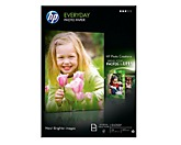 HP Fotopapier Everyday Q2510A DIN A4 200g weiß 100 Bl./Pack.