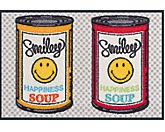 Türmatte Smiley Happiness Soup - von wash and dry