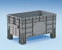Großbehälter aus Polyethylen - Inhalt 220 l, 4 Füße zum Unterfahren - ab 5 Stk