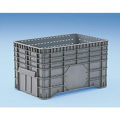 Capp Plast Großbehälter aus Polyethylen - Inhalt 300 l, Standboden