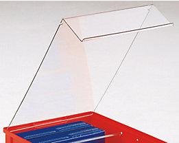 Staubdeckel - VE 5 Stk - für Kasten, LxBxH 350 x 210 x 200 mm