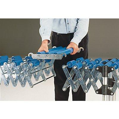 Verbindungsstück - Rollenbahn 400 mm - Kunststoffrollen
