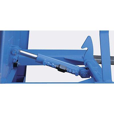 Kippbremse, einstellbar - für Behältergröße Inhalt 0,5 – 2 m³ - Mehrpreis