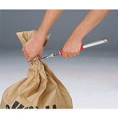 Drahtschlingen - mit Kunststoffummantelung - 200 mm lang, VE 5000 Stk