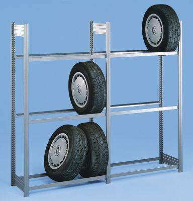 Reifenregal - Regalhöhe 2500 mm