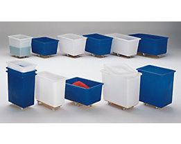 Cuve en polyéthylène, mobile - capacité 130 l