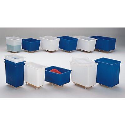 Großbehälter aus Polyethylen, fahrbar - Inhalt 320 l
