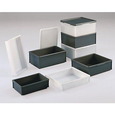 Stapelkasten aus Polyethylen, ohne Verstärkungsrippen - Inhalt 15 l