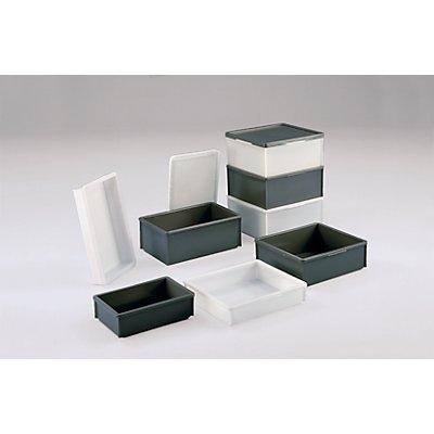 WERIT Stapelkasten aus Polyethylen, ohne Verstärkungsrippen - Inhalt 18 l
