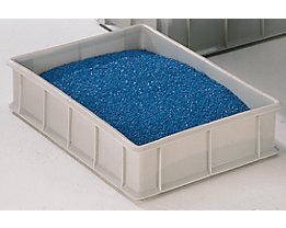 Stapelkasten aus Polyethylen, mit Verstärkungsrippen außen - Inhalt 20 l