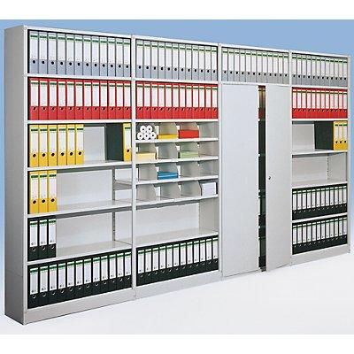 Büro-Steckregal, ohne Rückwand - Regalhöhe 2250 mm