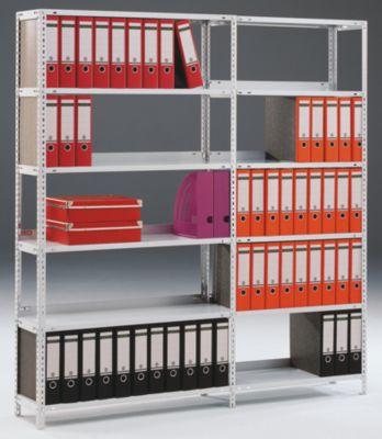 Akten-Schraubregal, verzinkt - Regalhöhe 1500 mm