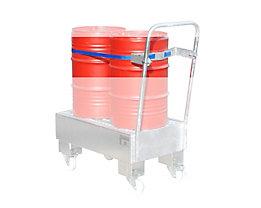 Spanngurtvorrichtung - Fasshaltegurt, für 2 x 60-l-Fässer