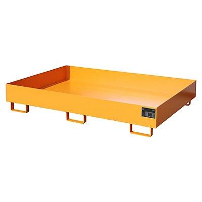Regal-Bodenwanne, 240 l Auffangvolumen, LxBxH 1750 x 1300 x 250 mm