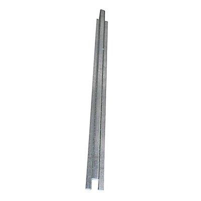 Wannenverbinder für niedrige Stahl-Flachwanne - Breite 55 mm, verzinkt