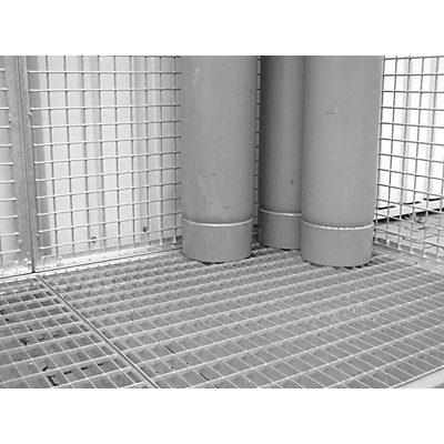 BAUER Gitterrostboden - befahrbar