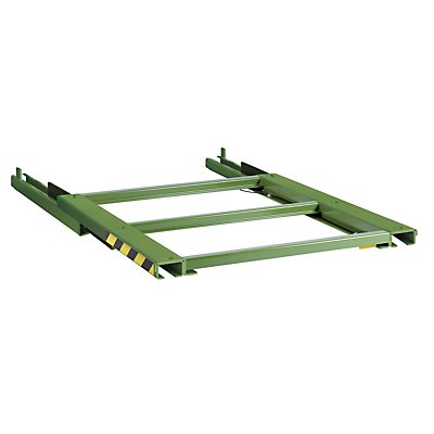 Lista Auszugrahmen - BxT 1290 x 1260 mm, Fachlast 800 kg, 100% ausziehbar