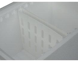 Kühlakku-Halter, Breite 218 mm, VE 4 Stk - für 2 Kühlakkus, TxH 28 x 185 mm