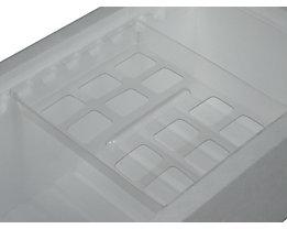 Einlegeschale - für 2 Kühlakkus, VE 4 Stk