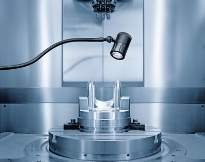 Waldmann Maschinenleuchte, SPOT LED - 100 – 240 V, Spot mit 10°-Abstrahlwinkel