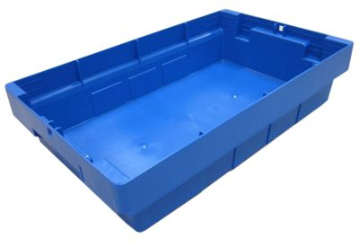 Transportbehälter, VE 4 Stk - Höhe 110 mm, blau