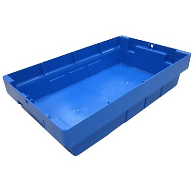 allit Transportbehälter, VE 4 Stk - Höhe 110 mm, blau