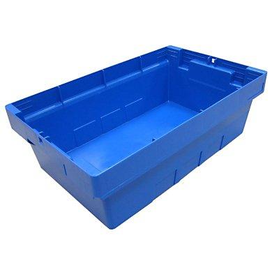 Transportbehälter, VE 4 Stk - Höhe 160 mm, blau