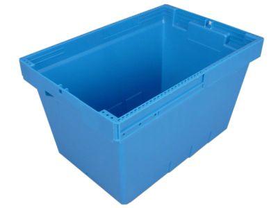 Transportbehälter, Tiefe 490 mm, VE 4 Stk - Höhe 280 mm, Volumen 35 l