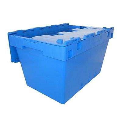 allit Transportbehälter, Tiefe 490 mm, VE 4 Stk - Höhe 300 mm, Volumen 35 l
