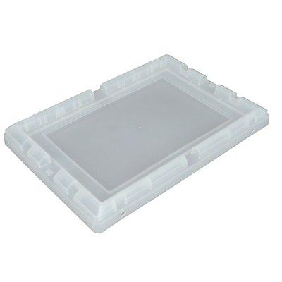 allit Behälterdeckel, Polypropylen - BxLxH 330 x 480 x 46,5 mm, VE 4 Stk