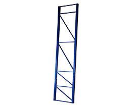 Palettenregal-Stützrahmen, Traglast max. 10000 kg - Stützrahmenhöhe 4555 mm