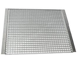 SLP Palettenregal-Boden - Gitterrostboden, Trägerlänge 1825 mm - Regaltiefe 750 mm