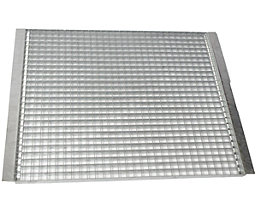 Palettenregal-Boden - Gitterrostboden, Trägerlänge 1825 mm - Regaltiefe 900 mm