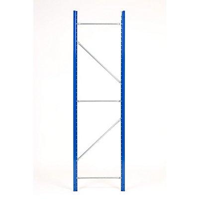 Weitspannregal-Stützrahmen, kunststoffbeschichtet - Rahmenhöhe 2100 mm