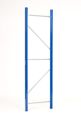 Weitspannregal-Stützrahmen, kunststoffbeschichtet - Rahmenhöhe 3600 mm