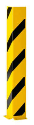 Regal-Anfahrschutz - L-Profil, Höhe 1200 mm, BxT 160 x 160 mm