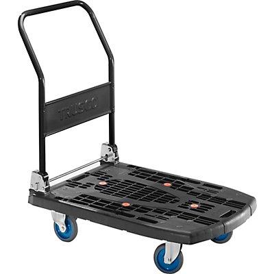 Plattformwagen PREMIUM 400, klappbar, Tragfähigkeit 400 kg - Plattformgröße LxB 900 x 620 mm, Gewicht 13,5 kg