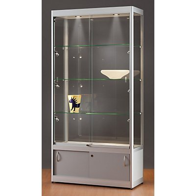 sdb vitrine mit led beleuchtung hxbxt 2000 x 1000 x 400 mm. Black Bedroom Furniture Sets. Home Design Ideas