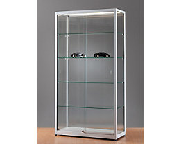 Vitrine mit LED- Beleuchtung - LED-Panel, HxBxT 1972 x 1000 x 400 mm
