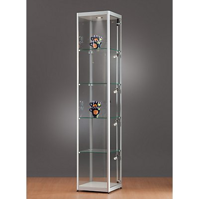 sdb vitrine mit led beleuchtung h he 2000 mm. Black Bedroom Furniture Sets. Home Design Ideas