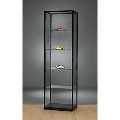 vitrine hauteur 1984 mm sans clairage l x p 600 x 400 mm forme rectangulaire. Black Bedroom Furniture Sets. Home Design Ideas