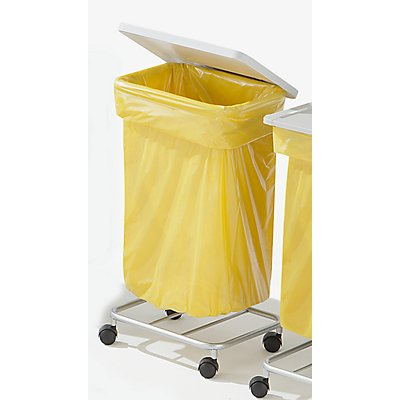 Wertstoff-Müllsackständer ohne Deckel - für 1 x 120-Liter-Sack, Fahrgestell