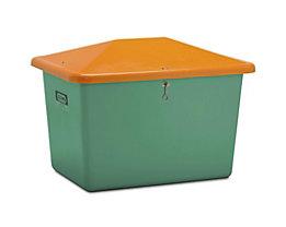 CEMO Streugutbehälter aus GfK - Volumen 700 Liter