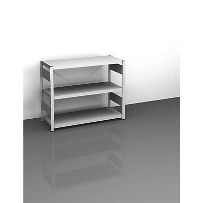 hofe Sideboard-Steckregal, lichtgrau - Höhe 825 mm, 3 Böden, Grundregal
