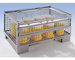 DIPPL Deckel, abschließbar - Mehrpreis - Vorrichtung für Vorhängeschloss