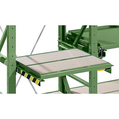 Lista Auszugrahmen - BxT 890 x 860 mm, Fachlast 1000 kg, 65% ausziehbar