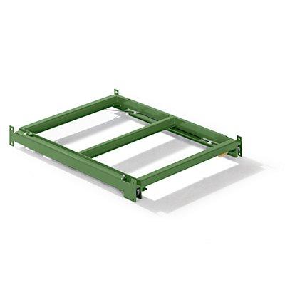 Lista Auszugrahmen - BxT 890 x 1260 mm, Fachlast 800 kg, 65% ausziehbar