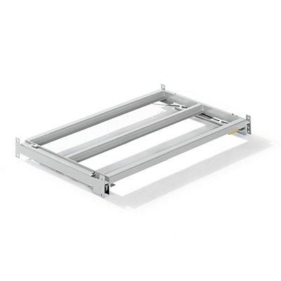 Lista Auszugrahmen - BxT 1290 x 860 mm, Fachlast 1000 kg, 65% ausziehbar